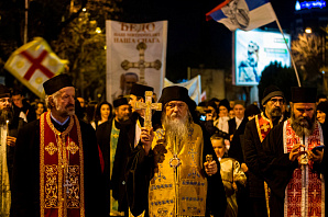 Протесты в Черногории: консервативная революция на марше